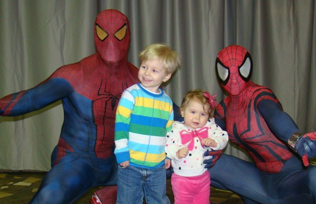 "Kurt's Blog: Meeting Spiderman, and Justin Bieber Pulls a ""Janet Jackson"""