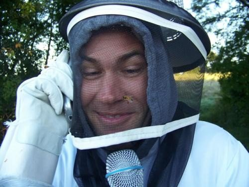 Kurt the beekeeper
