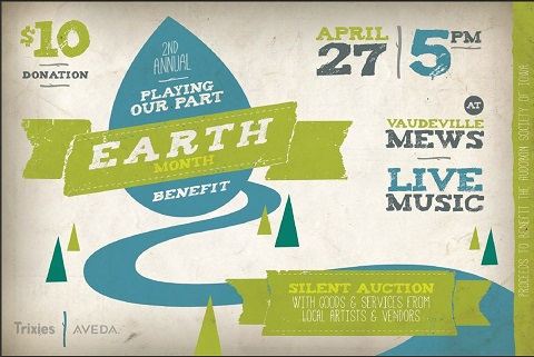2nd Annual Playing Our Part: An Earth Month Benefit Show