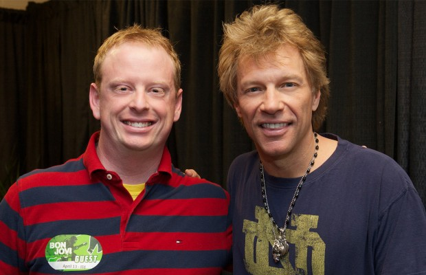 So I met Jon Bon Jovi…