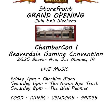 Chamber Of Champions Store Front Grand Opening
