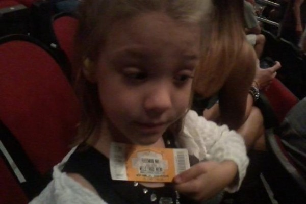 Rhiannon's first concert