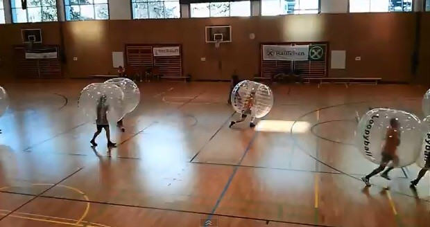 Video: Bubble Soccer is Awesome!