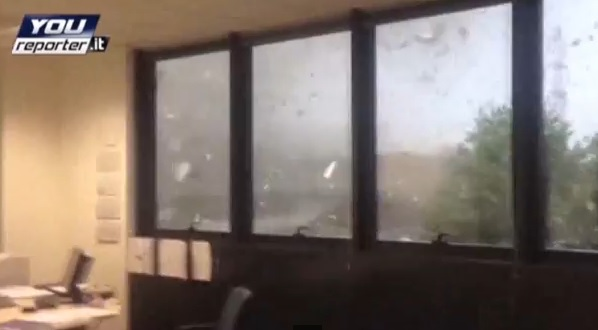 Video: Incredible Milan Tornado Footage