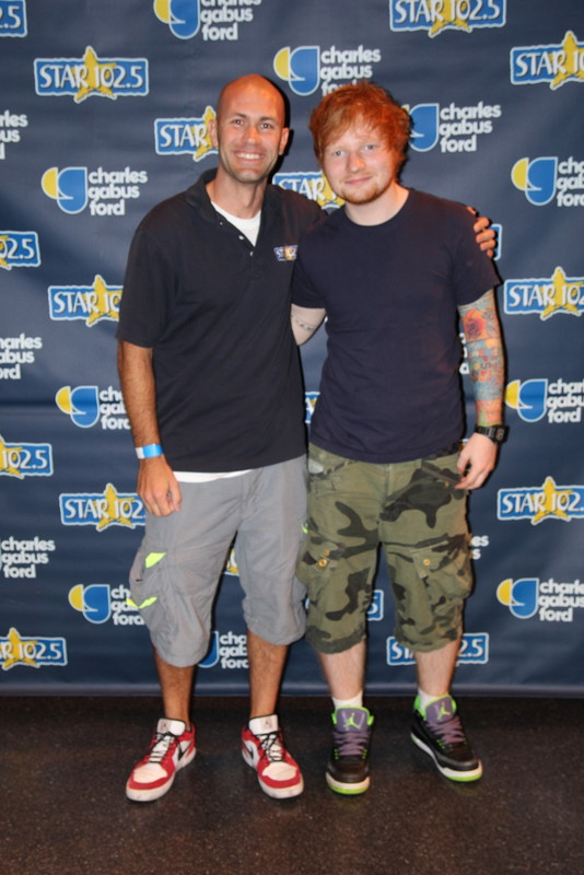 me and ed sheeran