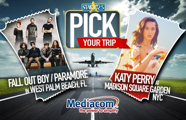 Pick Your Trip presented by Mediacom Careers!