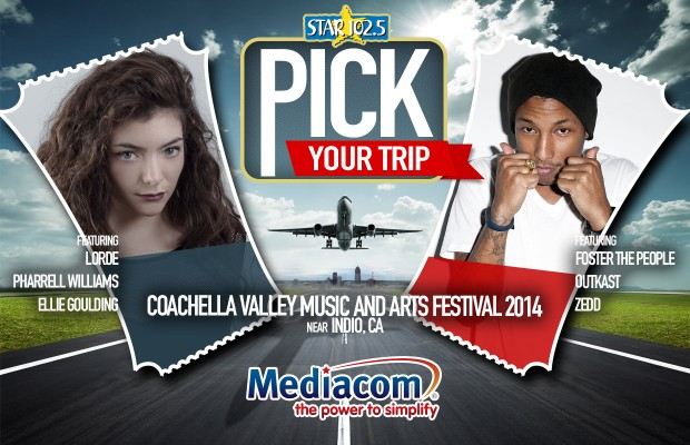 Pick Your Trip Presented by Mediacom Careers