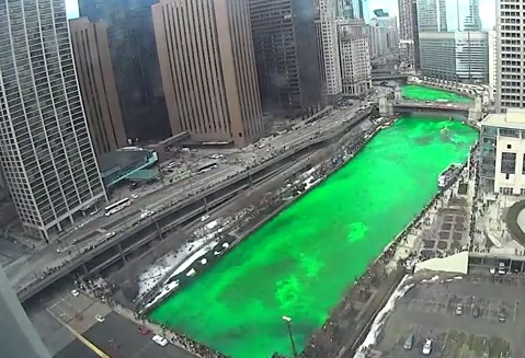 """The """"Green""""-ing of the Chicago River"""