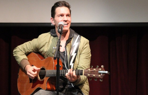 Andy Grammer Free Concert at Science Center of Iowa