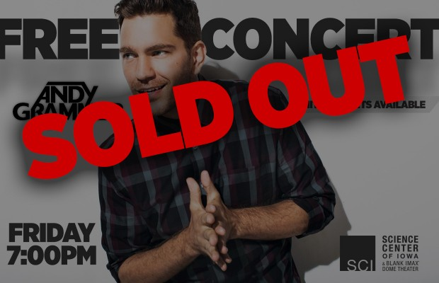 Andy Grammer Free Concert