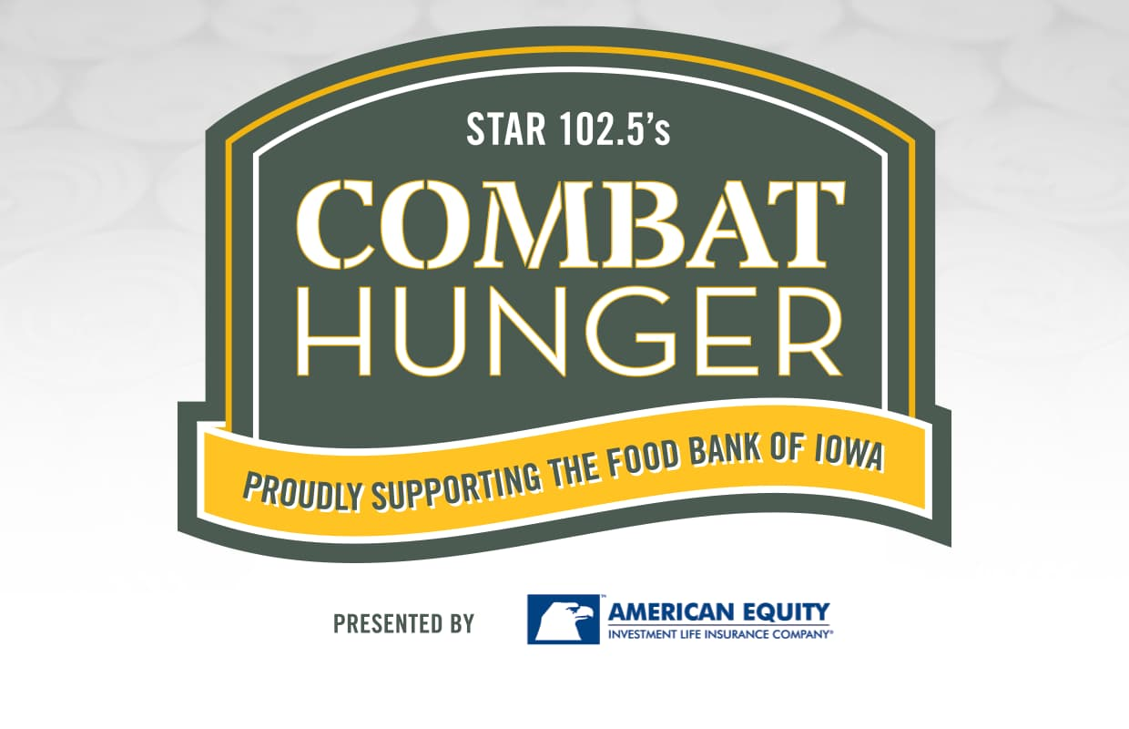logo for Star 102.5 Combat Hunger campaign